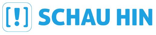 Logo: Schau hin